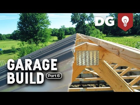 DAY 6: How To Build A Garage (For Your Brother)