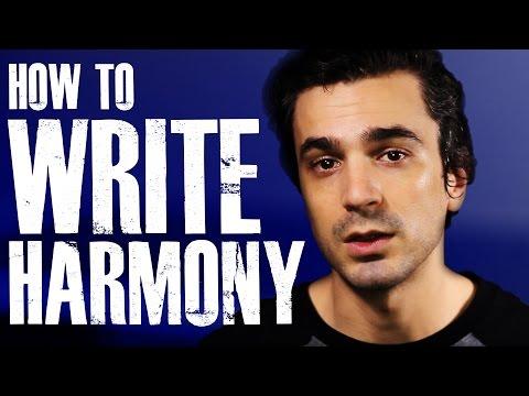 How to WRITE Harmonies! [Vocal Harmony Tutorial]