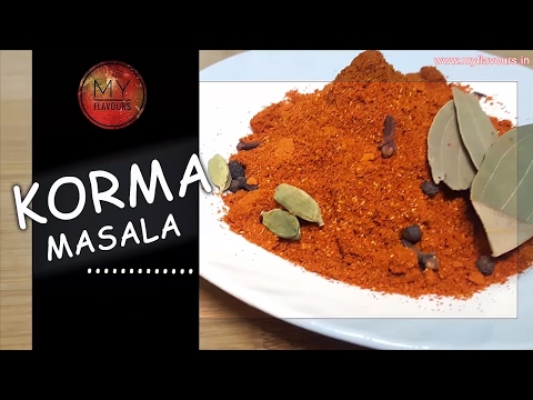 Homemade korma Masala Powder Recipe - Hindi /Korma Masala Recipe/Korma Spice Mix Recipe/korma masala