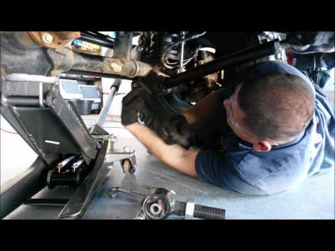 Installing adjustable control arms