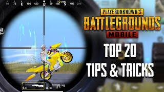 Top 20 Tips & Tricks in PUBG Mobile | Ultimate Guide To Become a Pro #13