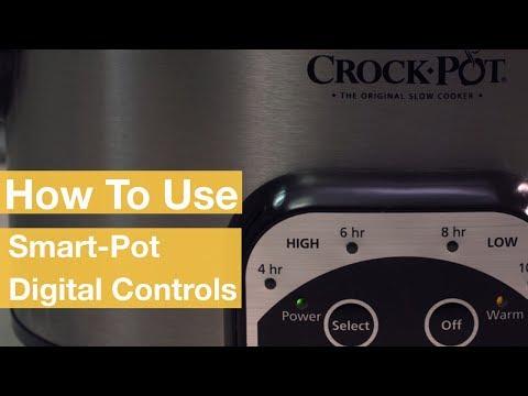 How To Use the Smart-Pot® Digital Controls | Crock-Pot®