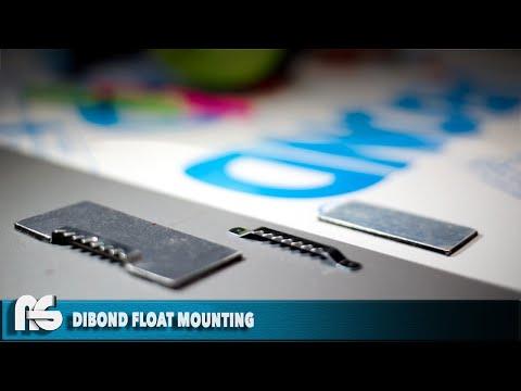 DIY Float Mounting System for DIBOND Panels