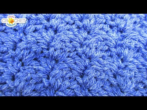 Falling Leaves Crochet Stitch - Calendar Blanket - April