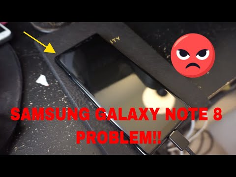Samsung Galaxy Note 8 Not Charging , Dead Battery, problems, Sprint Mobile *UPDATE