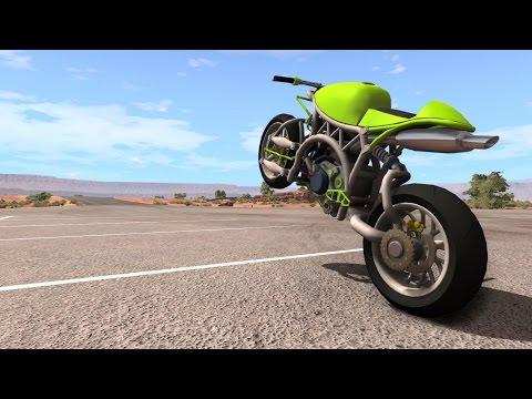 BeamNG.driVe - Custom Sport Bike