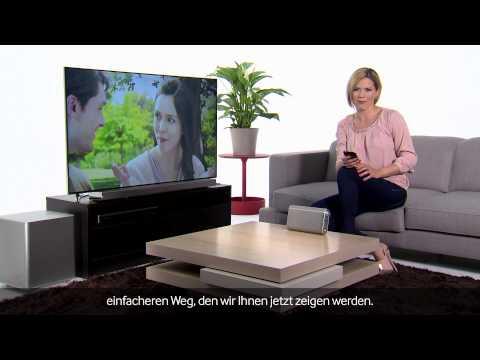 Samsung SMART TV - Wireless Bluetooth Speaker [Video Tutorial 2013]