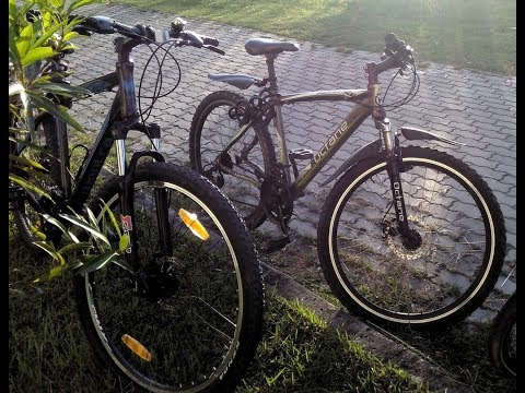 Hero Octane Endevour and Montra Rock 1.1  MTB  side-by-side