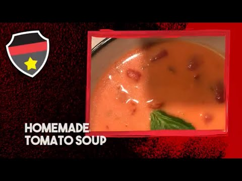 Homemade Tomato Soup - Simple, Fast, Great Tasting Tomato Soup