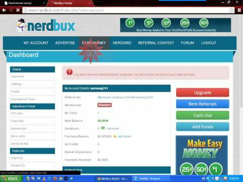 how to create a nerdbux account and earn money(in sinhala language)