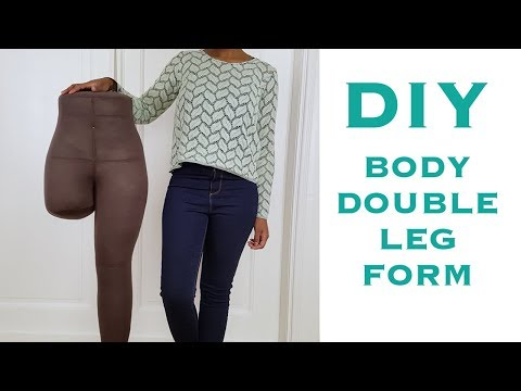 How to Make a Dress Form for Pants (for Pattern Design, Draping & Fittings)