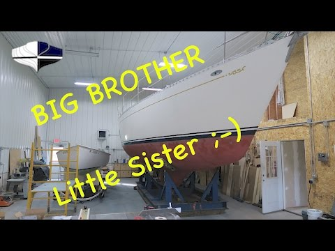 Moving BIG Boats To The Shop!! ~ YT