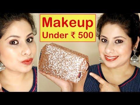 Beginners Makeup Kit Under ₹ 500 || Step-by-Step Makeup Tutorial