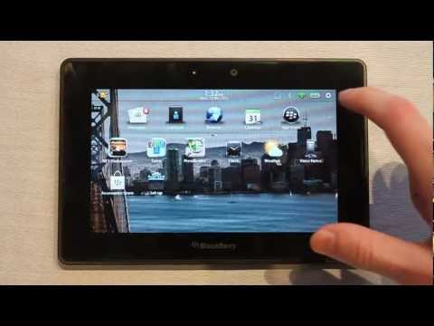 BlackBerry PlayBook OS 2.0 tour and review