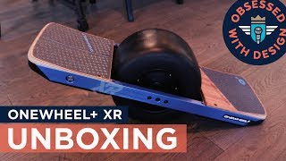 ONEWHEEL + XR UNBOXING... and my first RIDE