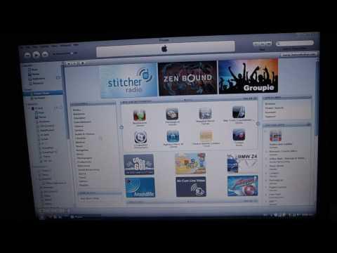 شرح بالتفصيل بالصور والفيديو طريقة تنزيل التطبيقات للايفون عن طريق iTunes والتحميل من اب ستورز