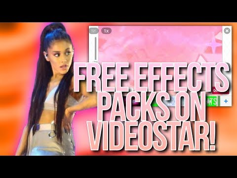 HOW TO GET FREE EFFECTS/PACKS ON VIDEOSTAR! (2017) | VOICEOVER