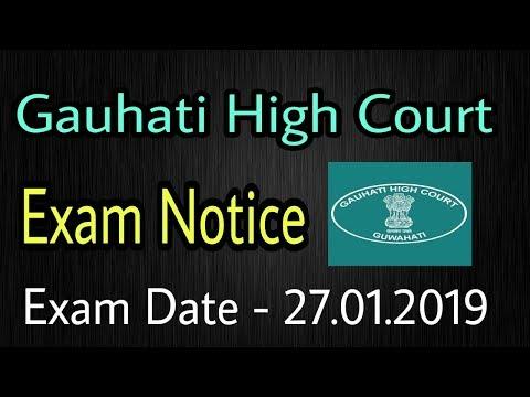 Gauhati High Court Exam Notice 2019 : For 158 LDA,Copyist, Typist Post