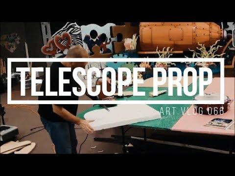 Art Vlog 066 - Cardboard Telescope