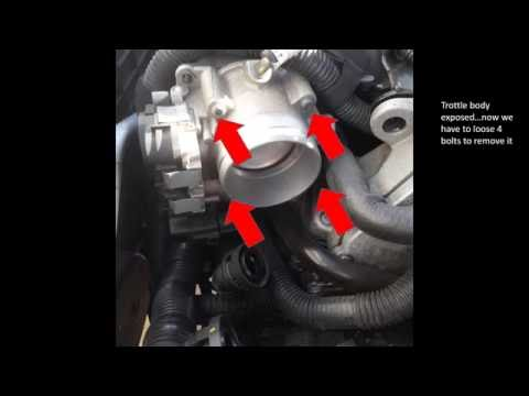 P0106 - Remove and clean or replace MAP sensor VolksWagen Passat/jetta 2012 engine 2.5