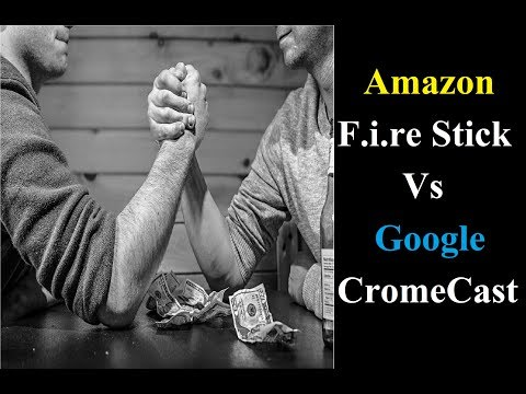 Google chromecast ya Amazon fire stick