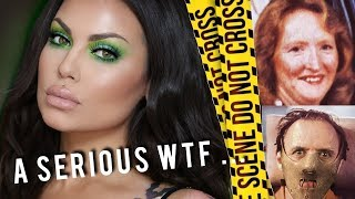 The Woman Hannibal Lecter - Katherine Knight - GRWM - Murder, Mystery & Makeup   Bailey Sarian