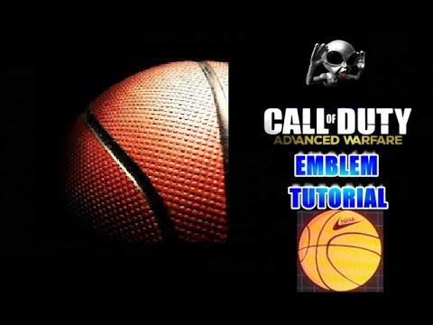 Advanced Warfare Emblem Tutorial Basketball NBA (Nike)