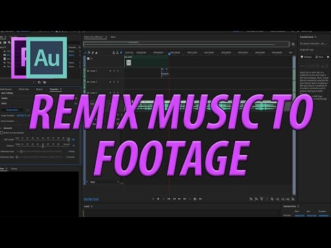 How to Cut Music to Footage Length in Adobe Premiere Pro CC (2017)