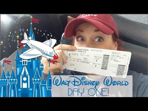 Walt Disney World - Day 1: Travel l Port Orleans Riverside