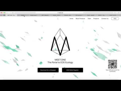 EOS Launches | $EOS Wallet By Meet.one | Scatter $EOS Wallet | eosDAC | Bee Token