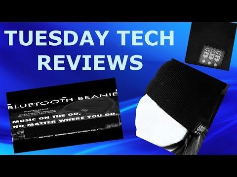 TUESDAY TECH REVIEWS: WIRELESS BLUETOOTH SPEAKER BEANIE BY FOUR SEASONS DESIGN