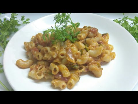 How to make Indian style Macaroni Pasta Recipe |Pasta Recipes for Kinds | Sunita's kitchen |
