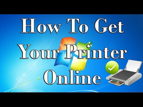 How To Get Your Printer Online