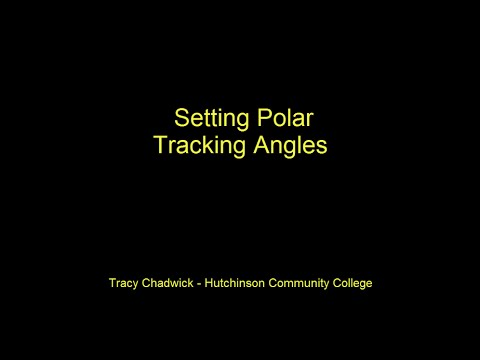 Setting Polar Tracking Angles in AutoCAD