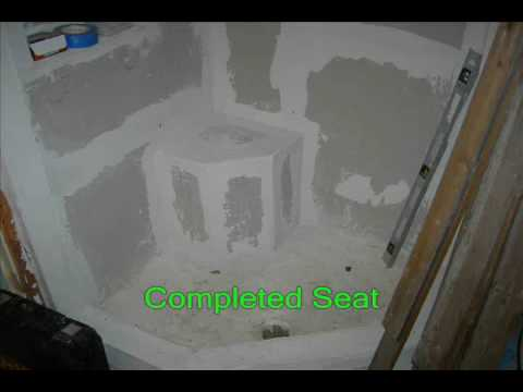 Hand made Shower seat By MZ-HANDYMAN