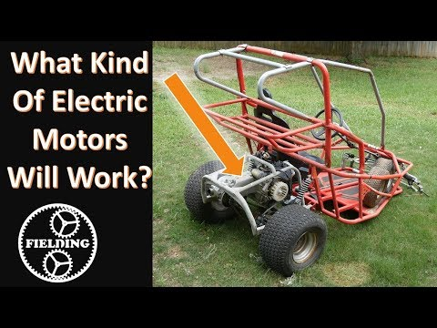 What Motors Can Be Used In A Go Kart / Electric Bike; Bench Testing and Recommended Sizing #62