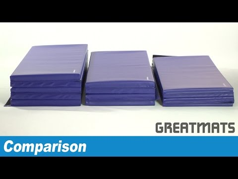 How to choose folding gym mats - Comparing Folding Gymnastics Mats