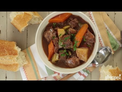 How to Make Slow Cooker Beef Stew | Slow Cooker Recipes | AllRecipes
