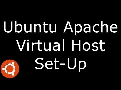 Ubuntu Apache Virtual Host Set Up