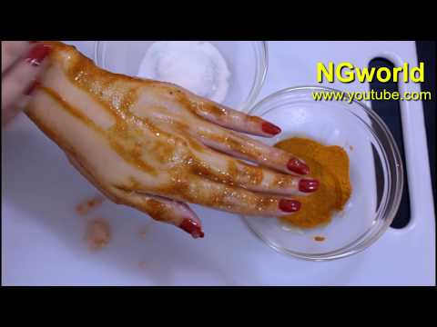 SKIN WHITENING with Easy Recipe, Simple Ingredients at Home to Get FAIR SPOTLESS GLOWING SKIN