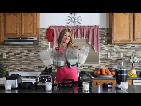 Best Blender Milk Substitute and Milk Recipes Blendtec vs Vitamix - Nutribullet vs Ninja - Blenders
