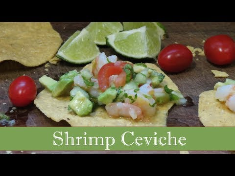 Shrimp Ceviche Tostadas | The Frugal Chef