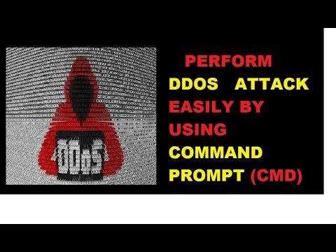 PERFORM DDOS ATTACK USING CMD HINDI/URDU TUTORIALS