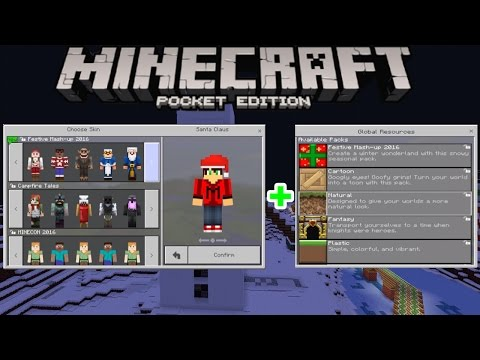 Minecraft PE (Mcpe)1.0.0/1.0 | ALL TEXTURE PACKS, SKIN PACKS AND MASHUP PACKS + APK DOWNLOAD LINK!!