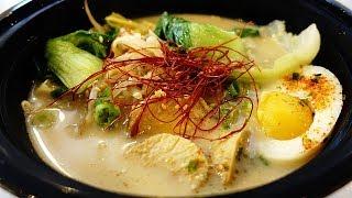 Japanese Trying VEGAN RAMEN in LA (Taste Test)