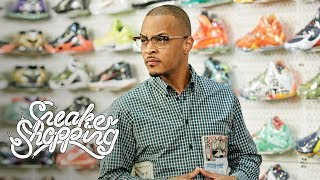 Download T.I. Goes Sneaker Shopping With Complex Video
