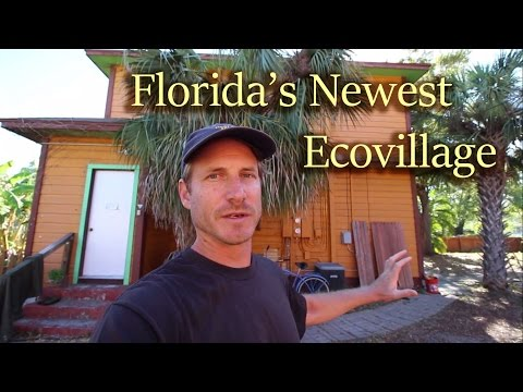 Florida's Newest (and only) Ecovillage: St Pete Ecovillage