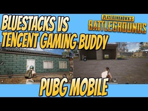 Tencent Gaming Buddy vs BlueStacks Gaming Buddy PUBG MOBILE Benchmark Test
