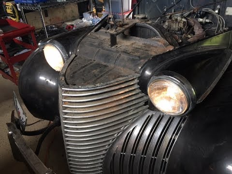 1940 Cadillac Running After 13 Years