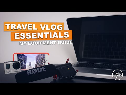 TRAVEL VLOG ESSENTIALS (My Equipment Guide)